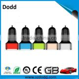 Dual port USB car charger with good quality ,5V 1a/2A Mobile car charger for power bank,smartphone