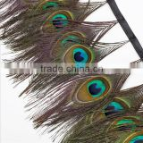wholesale natural peacock feather sale blue peacock feathers