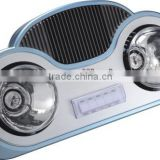 Wall Mounted radiant bathroom heater lingpu AO-HB03 /3 in 1 functions/infrared lamp heater/light/fan