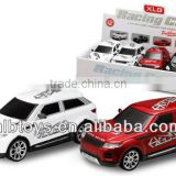 1:24 scal Metal Power Pull Back Car with music and light,Hot sale