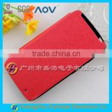 High-grade PU leather silk lines flip stand with sucker cheap mobile phone case for Moto XT1254 Droid Turbo