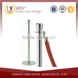 Rope Stand / Portable Crowd Control Post / Velvet Rope Stanchion