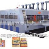 INQUIRY about Corrugated cardboard carton flexo printer slotter die cutter machine