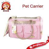 Wholesale Top Quality Pet Polyester canvas Travel Bag Dog Carrier Hot Selling                                                                         Quality Choice