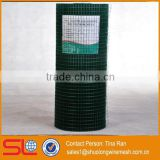 Hebei Shuolong supply 4ft. x 50ft. 14-Gauge Green PVC welded wire for bird cage wire mesh