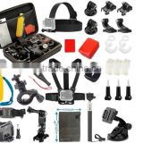 15 in 1 Gopros Accessories Kit for Xiaomi yi Outdoor Sports Kit, SJcam accessories kit Camera accessories kit GK35