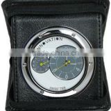 Wallet Mini Hidden Camera Clock Motion Detector