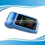 New Arrival Android touch pos terminal with thermal printer 4 inch smart pos terminal SIM