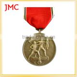 Custom Metal Medals And Medallion Trophies,Cheap Sports Medal With Ribbon,Gold/Silver/Bronze Medal Zinc AlloyAward Medal