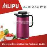 2 L capacity cup shape electric kettles/travel kettle/sports kettles with warmer function