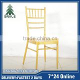 Cheap used steel Chiavari chair from China for sale