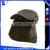 UV 50+ Flap Hats Outdoor Sun Protection Fishing Caps neck protection hat