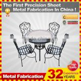 kindle 2014 new professional customized galvanized folding art metal chair