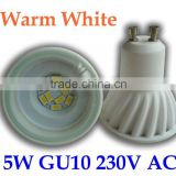 5630 smd led gu10 MR16 GU10 5W Ceramic Spot LED