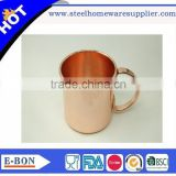 Hot sale pure coper manufacturer moscow mule copper solid mug                                                                         Quality Choice