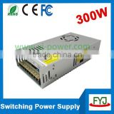high power switching led power supply transformer 300w 12v 24v 36v for LED strips lighting AC110v/240v