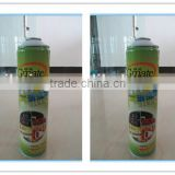 Guangzhou manufacturer supply 650ml high aerosol tin can for car cleaning