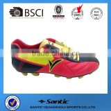 2016 Men outdoor sport shoes for football use, grade original quality soccer boots new style outdoor rugby SS4037