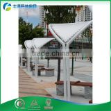 OEM Hight Quality Hot-Dipped Galvanized Steel Metal Pergola