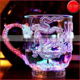 LED dragon cup Water Activated Plastic LED Glowing Cup