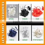 PGHD0664 Hot selling ladies' fancy hair accessories large grosgrain ribbon bow hair clips