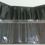 carbon cutting hair combs kit