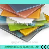 19mm Back Painted Glass/Different Colors Back Painted Glass/ Lacquered Painted Glass