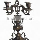 "An Imitation Antique gilt Brass ""Victory Cup"" Candle Holders JGLT-37"