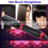 Professional Straightening Hair Brush, 2 in 1 Hair Curler, Hair Straightening Brush As Seen on TV