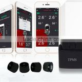 Hot Selling TPMS for Android/IOS phone Valve Stem with Internal and External Sensor Optional