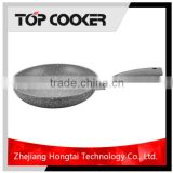 Forged Aluminium Granite Grey Marble Cookware