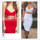 Fashion club clothing evening bandage women sexy lingeries dress