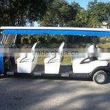 8 Passenger Electric shuttle bus used as sightseeing car
