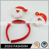 Christmas day cute costume christmas hair accessories kids hair hoop                                                                                                         Supplier's Choice