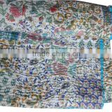 RTKQ-8 New Design wholesale indian kantha quilts / Bed covers kantha quilt wholesale kantha throw From India Jaipur