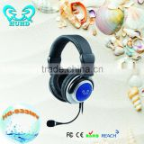 2014 Newest High Quality Folding Gaming Headset Wire Gaming Headset For Video Game Console