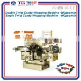 Double/Single twist candy wrapping machine
