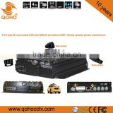Dual 256GB SD card Vehicle Mobile Car DVR and 3G / 4G SIM card,Anti-dust , vibration Feature