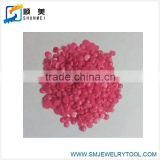 casting wax pink color jewelry wax bead of injection wax