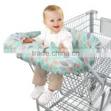 2-in-1 Baby Shopping Cart Cover and High chair cover