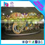 novelty design china indoor playground equipment luxury carousel for sale