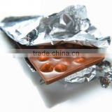 Stock lot household aluminium foil 10 micron thickness aluminum foil with SGS certificate factory price good quality