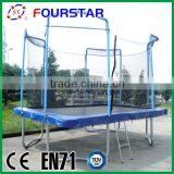 Sports Toy Gymnastic Trampoline Sports Inflatable Trampoline Kids Jumping Bed Square Trampoline SX-FT(E)
