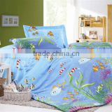 baby bedding set /cute pattern duvet cover set/fishes in the sea/manufacturer