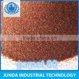 good tenacity Soluble Salts 100ppm 80 mesh garnet price used for sand blasting in carbon steel