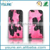 Pink Crocodile Pattern Top Grade Flip Wallet Leather Phone Case For BLU Studio G With Plaid Pattern Lining