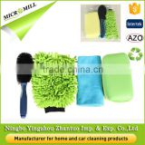 Good color fastness car wash tool kit, washing car product clean, high efficiency cleaning set