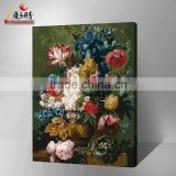 famous house painting flower for the wall pictures modern artwork DIY painting by number in china yiwu 2016