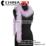 Gold Supplier CHINAZP Best Selling 30g Weight Beautiful Colored Lavender Turkey Marabou Plumage Feathers Boas
