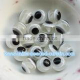 8MM/10MM/12MM Round Evil Eye Resin Beads Wholesale Plastic Beads for Bracelet Necklace Accessories